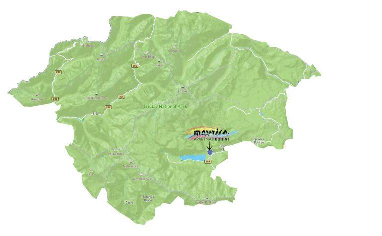 Lokacija v Triglavskem narodnem parku